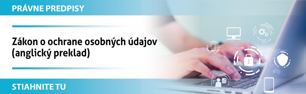 Zákon o ochrane osobných údajov (anglický preklad)